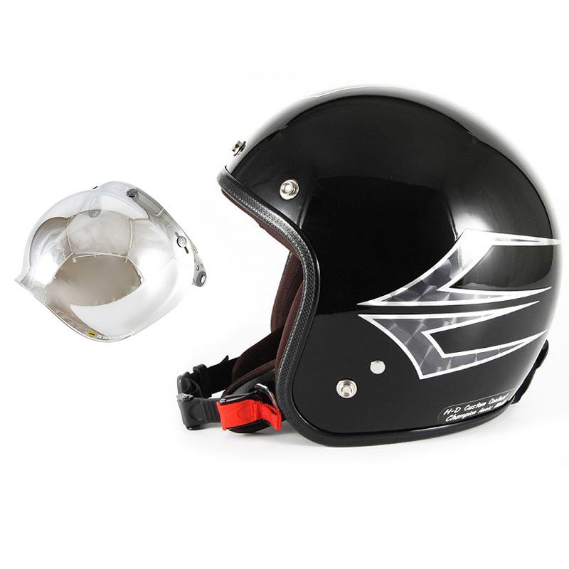 72JAM デザイナーズジェットヘルメット [JCP-39] 開閉シールド付き [JCBN-02]Spindle スピンドル ミッドナイトブラック [ミッドナイトブラックベースグロス仕上げ]FREEサイズ(57-60cm未満) メンズ レディース 兼用品 SG規格 全排気量対応