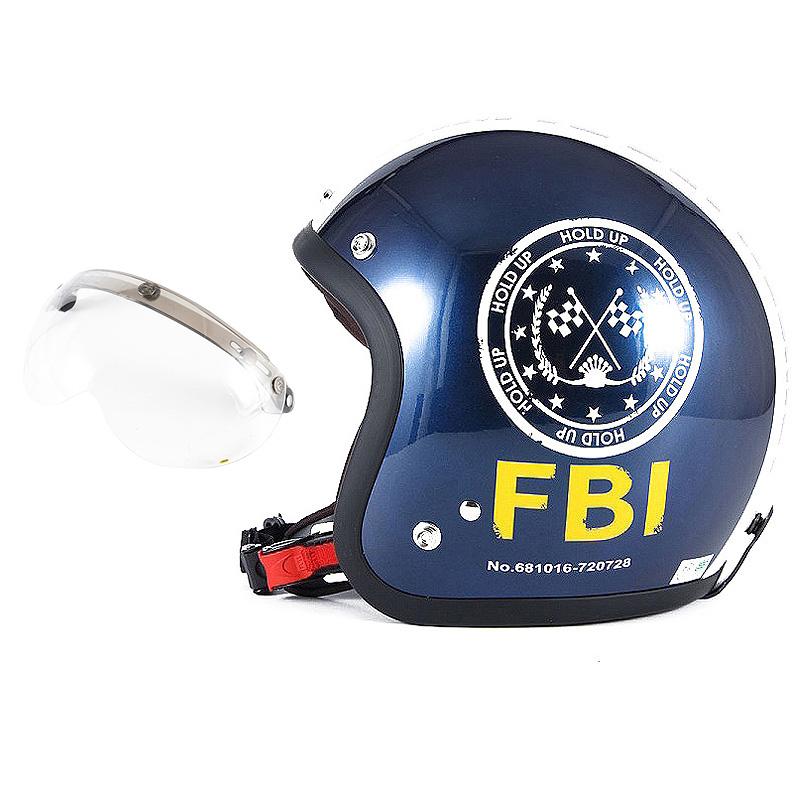 72JAM デザイナーズジェットヘルメット [JJ-02B] 開閉シールド付き [APS-01]ジャムテックジャパン 72JAM JJ-02BF.B.I. ブラック [ブルーブラックベースグロス仕上げ]FREEサイズ(57-60cm未満) メンズ レディース 兼用品 SG規格 全排気量対応