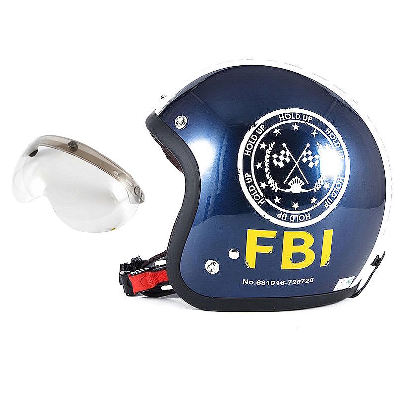 72JAM デザイナーズジェットヘルメット [JJ-02B] 開閉シールド付き [APS-03]ジャムテックジャパン 72JAM JJ-02BF.B.I. ブラック [ブルーブラックベースグロス仕上げ]FREEサイズ(57-60cm未満) メンズ レディース 兼用品 SG規格 全排気量対応