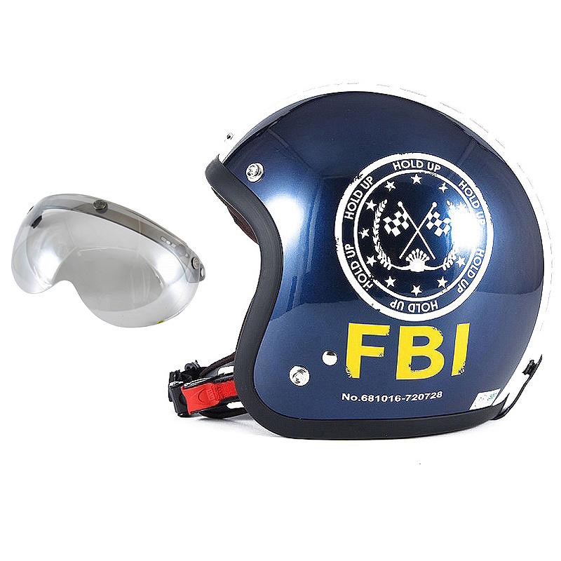 72JAM デザイナーズジェットヘルメット [JJ-02B] 開閉シールド付き [APS-04]ジャムテックジャパン 72JAM JJ-02BF.B.I. ブラック [ブルーブラックベースグロス仕上げ]FREEサイズ(57-60cm未満) メンズ レディース 兼用品 SG規格 全排気量対応