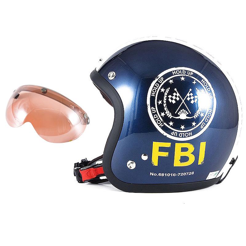 72JAM デザイナーズジェットヘルメット [JJ-02B] 開閉シールド付き [APS-05]ジャムテックジャパン 72JAM JJ-02BF.B.I. ブラック [ブルーブラックベースグロス仕上げ]FREEサイズ(57-60cm未満) メンズ レディース 兼用品 SG規格 全排気量対応