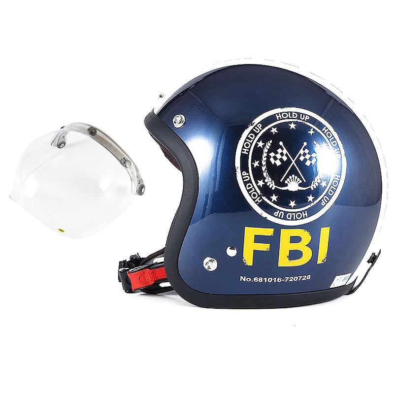 72JAM デザイナーズジェットヘルメット [JJ-02B] 開閉シールド付き [JCBN-01]ジャムテックジャパン 72JAM JJ-02BF.B.I. ブラック [ブルーブラックベースグロス仕上げ]FREEサイズ(57-60cm未満) メンズ レディース 兼用品 SG規格 全排気量対応