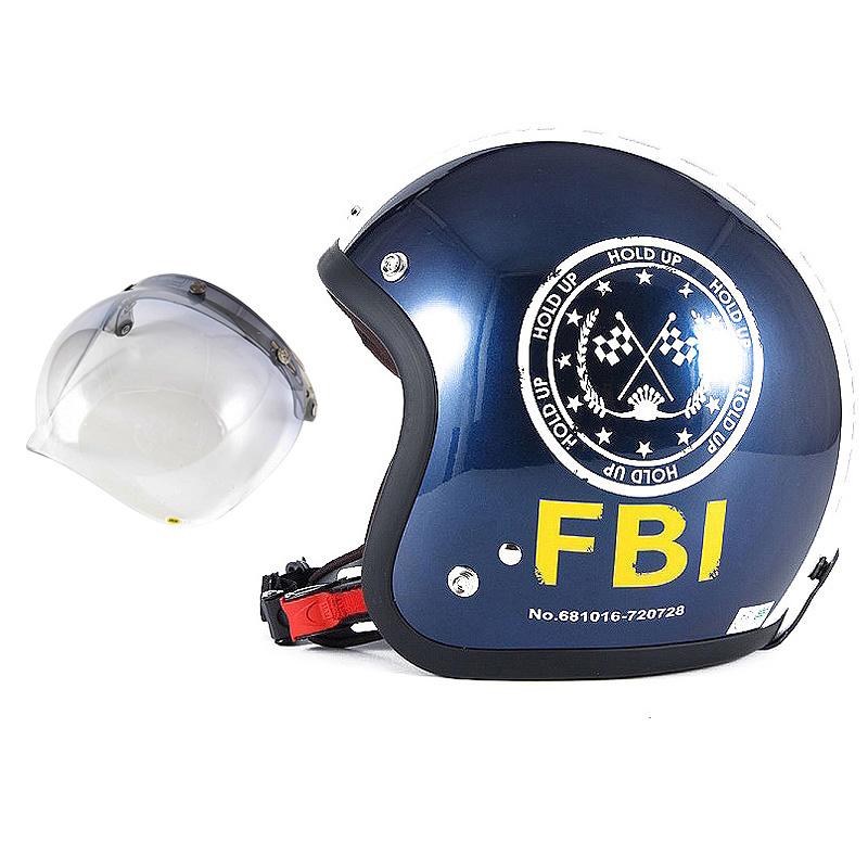 72JAM デザイナーズジェットヘルメット [JJ-02B] 開閉シールド付き [JCBN-05]ジャムテックジャパン 72JAM JJ-02BF.B.I. ブラック [ブルーブラックベースグロス仕上げ]FREEサイズ(57-60cm未満) メンズ レディース 兼用品 SG規格 全排気量対応