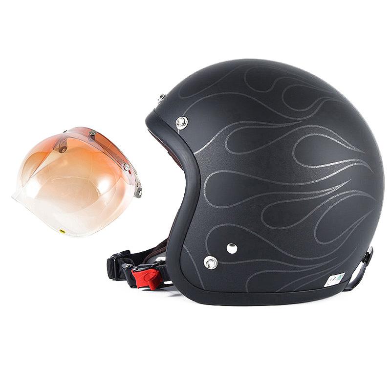 72JAM デザイナーズジェットヘルメット [JJ-16] 開閉シールド付き [JCBN-04]STEALTH ステルス マットブラック [ガラスフレークブラックベースマット仕上げ]2サイズ メンズ レディース 兼用品 SG規格 全排気量対応