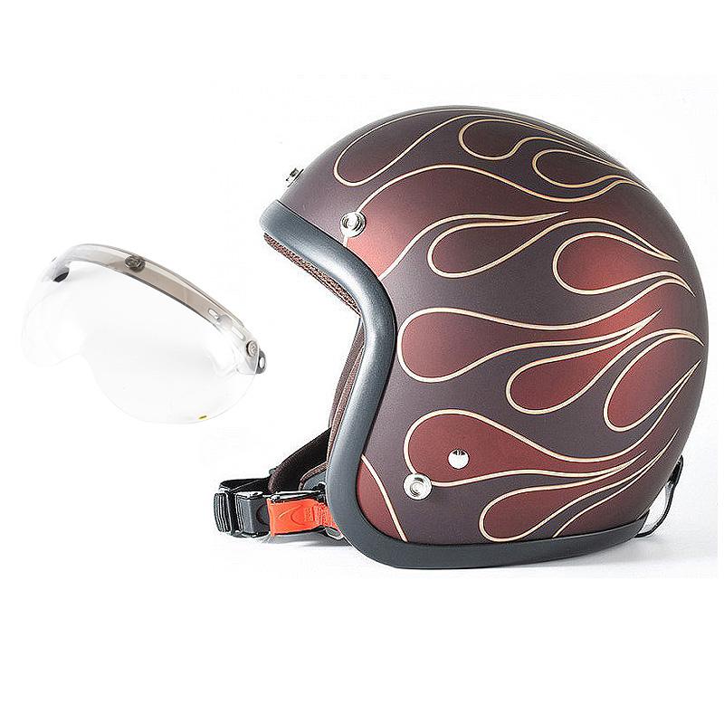 72JAM デザイナーズジェットヘルメット [JJ-22] 開閉シールド付き [APS-01]STEALTH ステルス レッド [ガラスフレークレッドベースマット仕上げ]2サイズ メンズ レディース 兼用品 SG規格 全排気量対応