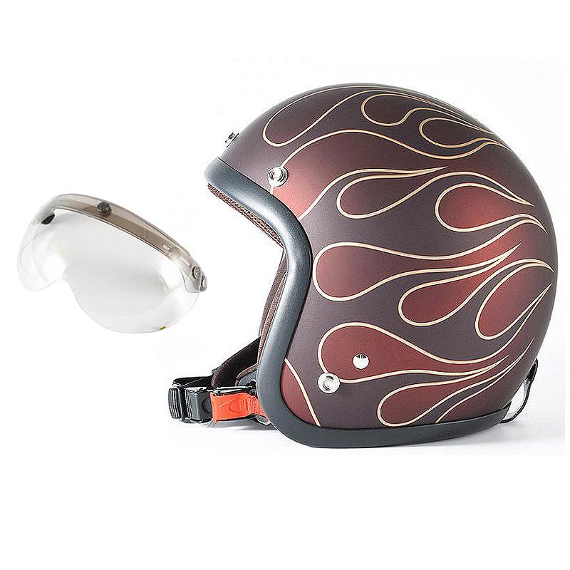 72JAM デザイナーズジェットヘルメット [JJ-22] 開閉シールド付き [APS-03]STEALTH ステルス レッド [ガラスフレークレッドベースマット仕上げ]2サイズ メンズ レディース 兼用品 SG規格 全排気量対応
