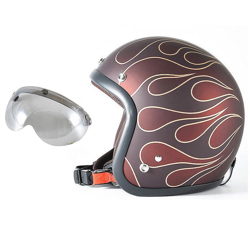 72JAM デザイナーズジェットヘルメット [JJ-22] 開閉シールド付き [APS-04]STEALTH ステルス レッド [ガラスフレークレッドベースマット仕上げ]2サイズ メンズ レディース 兼用品 SG規格 全排気量対応