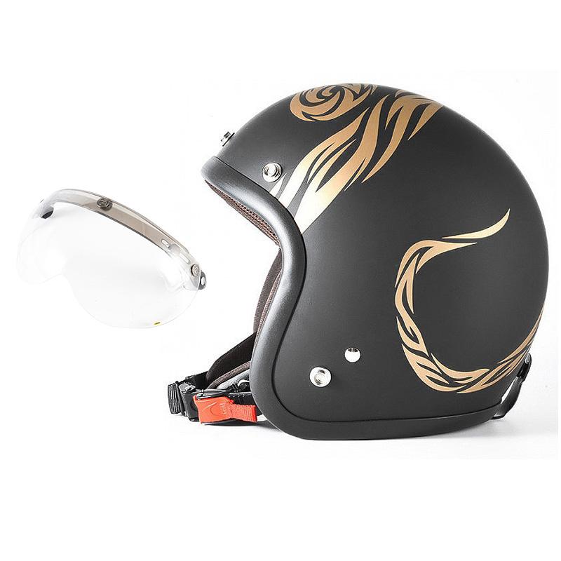 72JAM デザイナーズジェットヘルメット [JJ-26] 開閉シールド付き [APS-01]NATURAL LAW ナチュラルロー ブラック [ブラックベース マット仕上げ]FREEサイズ(57-60cm未満) メンズ レディース 兼用品 SG規格 全排気量対応