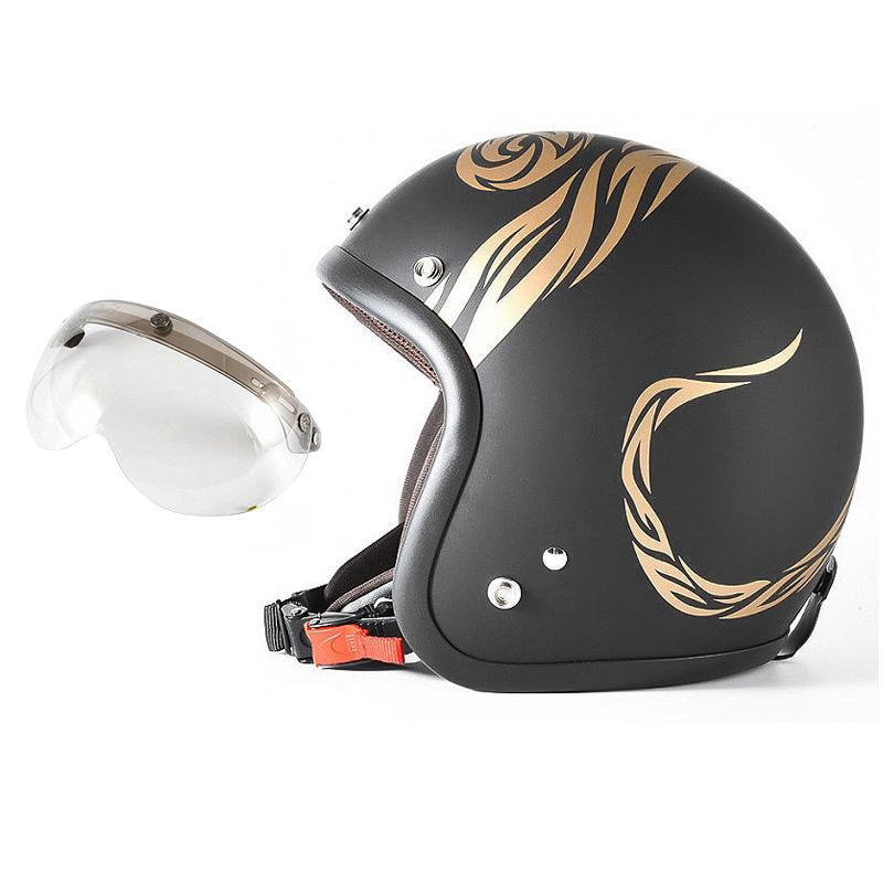 72JAM デザイナーズジェットヘルメット [JJ-26] 開閉シールド付き [APS-03]NATURAL LAW ナチュラルロー ブラック [ブラックベース マット仕上げ]FREEサイズ(57-60cm未満) メンズ レディース 兼用品 SG規格 全排気量対応