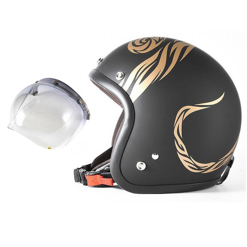 72JAM デザイナーズジェットヘルメット [JJ-26] 開閉シールド付き [JCBN-05]NATURAL LAW ナチュラルロー ブラック [ブラックベース マット仕上げ]FREEサイズ(57-60cm未満) メンズ レディース 兼用品 SG規格 全排気量対応