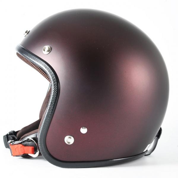 72JAM デザイナーズジェットヘルメット [JP-10]TWILIGHT トワイライト+ レッド [メタリックブラックベース キャンディーレッド マット仕上げ]FREEサイズ(57-60cm未満) メンズ レディース 兼用品 SG規格 全排気量対応