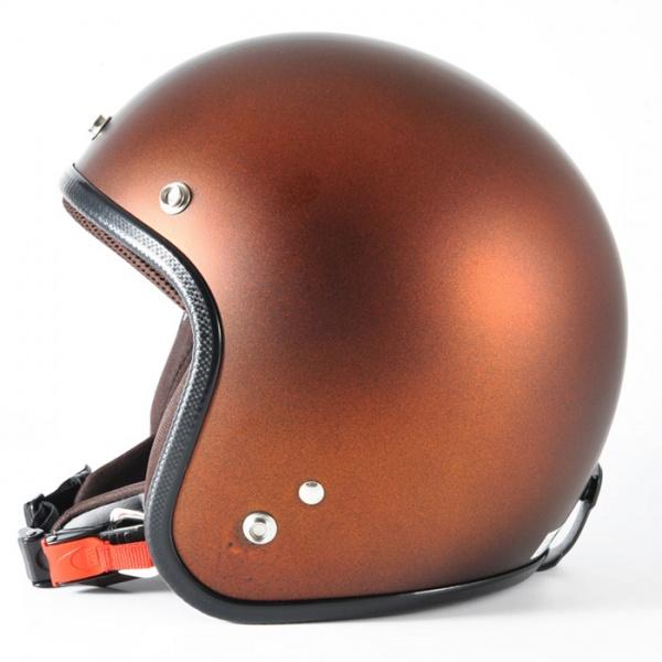 72JAM デザイナーズジェットヘルメット [JP-12]TWILIGHT トワイライト+ オレンジ [メタリックブラックベース キャンディーオレンジ マット仕上げ]FREEサイズ(57-60cm未満) メンズ レディース 兼用品 SG規格 全排気量対応