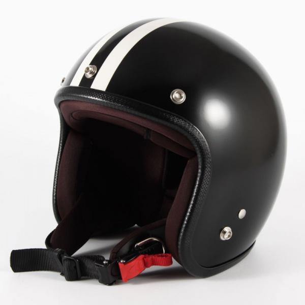 ジャムテックジャパン 72JAM JPBH-1LJP MONO BLACK HAWK ジェットヘルメット [セミグロスブラックベース]Lサイズ(60-62cm未満) メンズ SG規格 全排気量対応