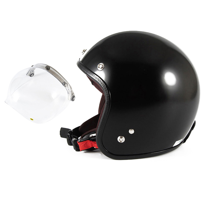 【JPBH-1+JCBN-01】ジャムテックジャパン 72JAM JPBH-1JP MONO BLACK HAWK ジェットヘルメット [セミグロスブラックベース]FREEサイズ(57-60cm未満) メンズ レディース 兼用品 SG規格 全排気量対応