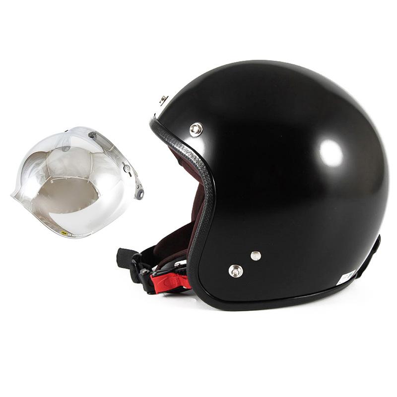 【JPBH-1L+JCBN-02】ジャムテックジャパン 72JAM JPBH-1LJP MONO BLACK HAWK ジェットヘルメット [セミグロスブラックベース]Lサイズ(60-62cm未満) メンズ SG規格 全排気量対応