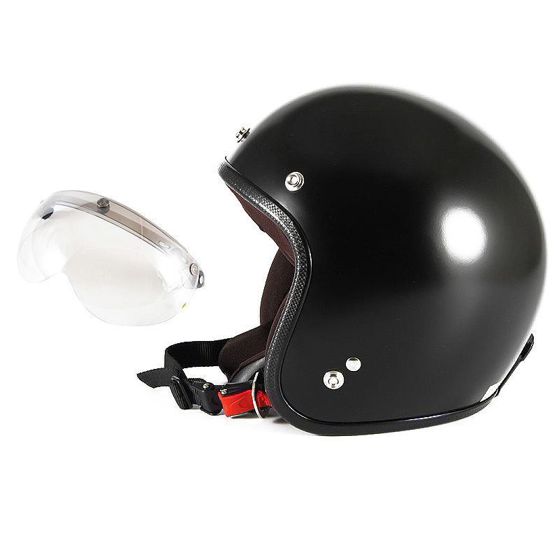 【JPBM-5L+APS-02】ジャムテックジャパン 72JAM JPBM-5LJP MONO ジェットヘルメット [マットブラックプレーン]Lサイズ(60-62cm未満) メンズ SG規格 全排気量対応