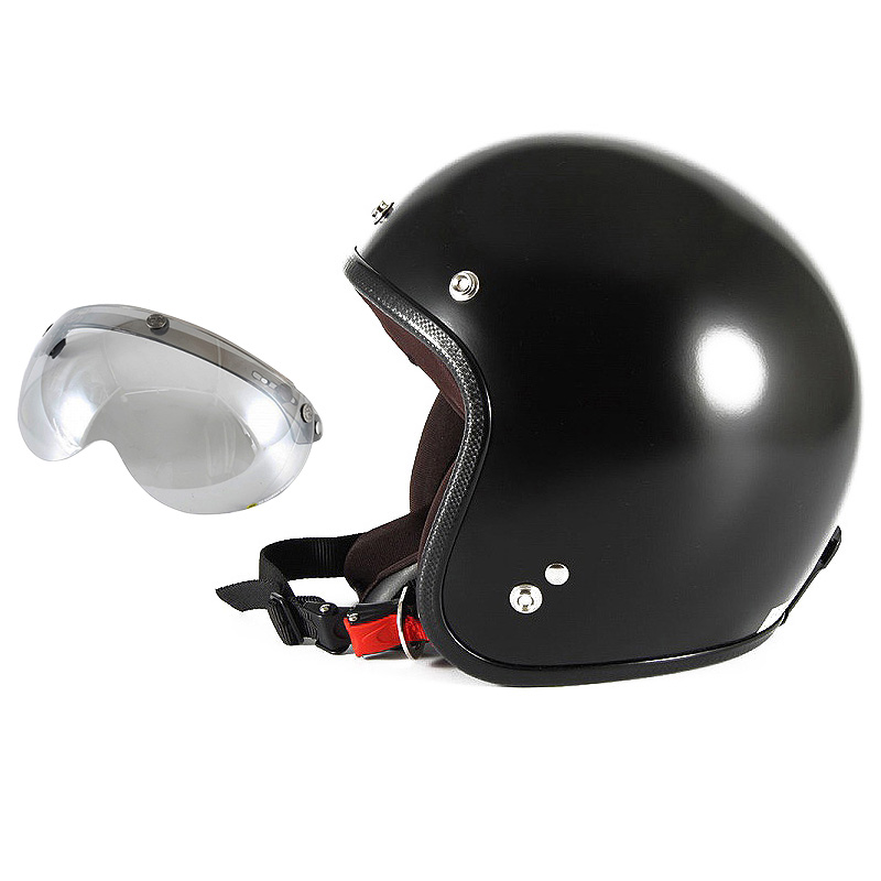 【JPBM-5L+APS-04】ジャムテックジャパン 72JAM JPBM-5LJP MONO ジェットヘルメット [マットブラックプレーン]Lサイズ(60-62cm未満) メンズ SG規格 全排気量対応