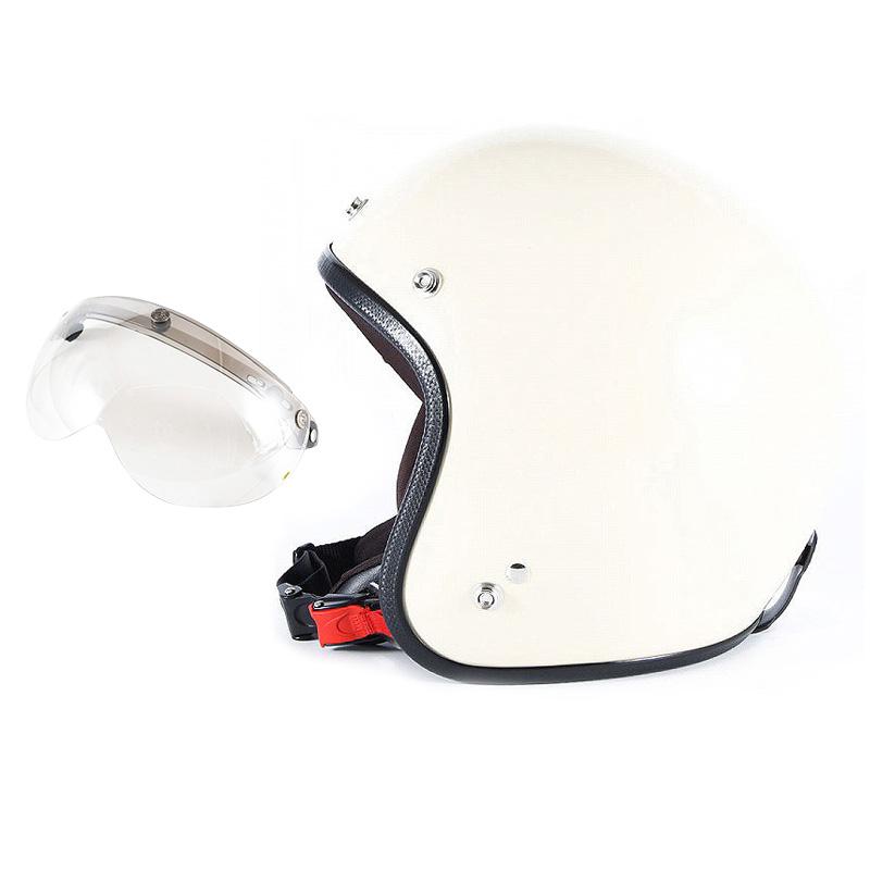 【JPIM-6L+APS-02】ジャムテックジャパン 72JAM JPIM-6LJP MONO ジェットヘルメット [マットアイボリープレーン]Lサイズ(60-62cm未満) メンズ SG規格 全排気量対応