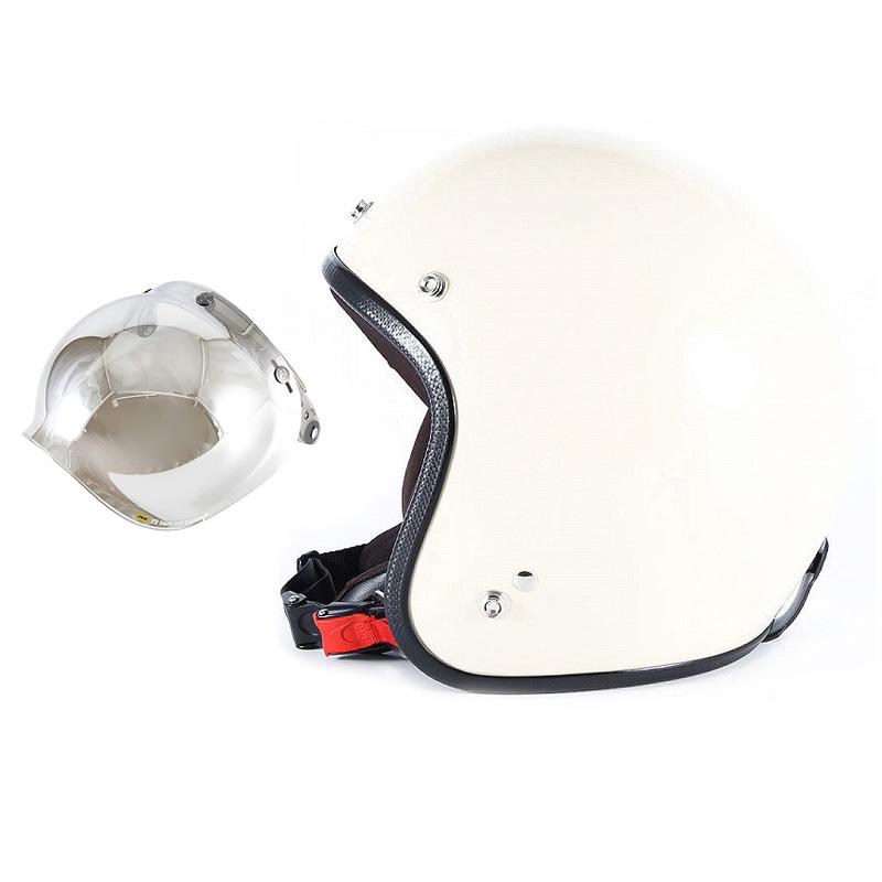 【JPIM-6+JCBN-02】ジャムテックジャパン 72JAM JPIM-6JP MONO ジェットヘルメット [マットアイボリープレーン]2サイズ メンズ レディース 兼用品 SG規格 全排気量対応
