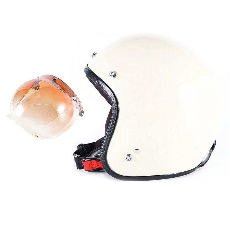【JPIM-6L+JCBN-04】ジャムテックジャパン 72JAM JPIM-6LJP MONO ジェットヘルメット [マットアイボリープレーン]Lサイズ(60-62cm未満) メンズ SG規格 全排気量対応