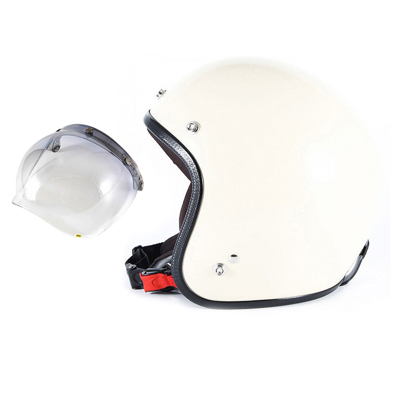 【JPIM-6L+JCBN-05】ジャムテックジャパン 72JAM JPIM-6LJP MONO ジェットヘルメット [マットアイボリープレーン]Lサイズ(60-62cm未満) メンズ SG規格 全排気量対応