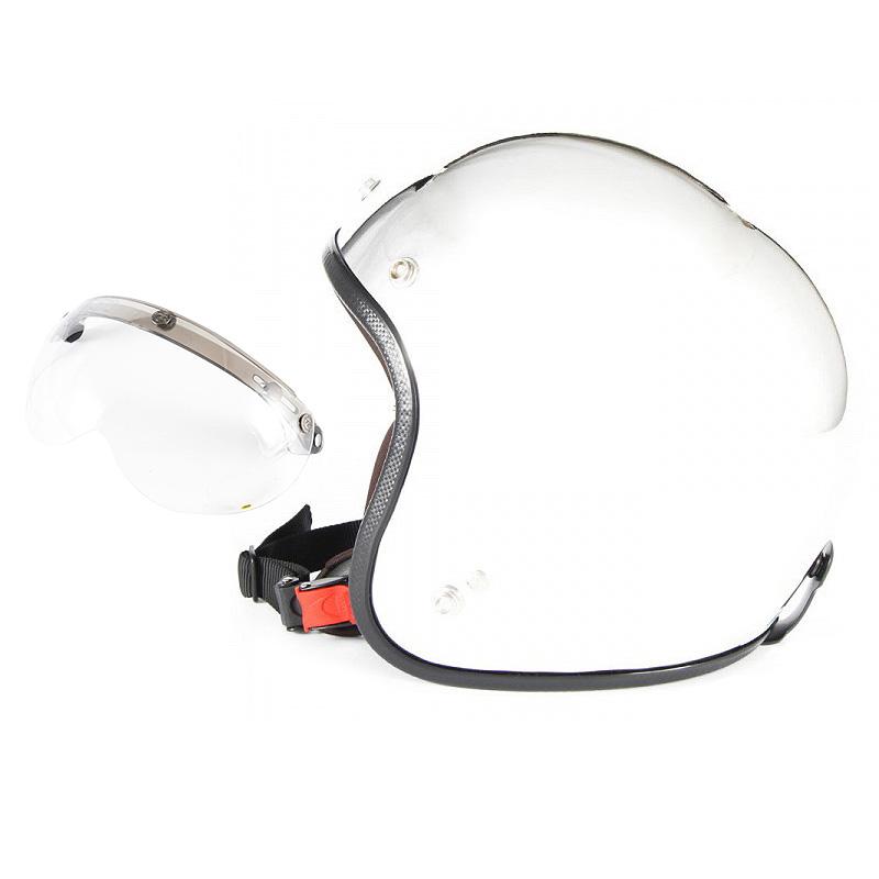 【JPM-3+APS-01】ジャムテックジャパン 72JAM JPM-3JP MONO ジェットヘルメット [メッキプレーン]3サイズ メンズ レディース 兼用品 SG規格 全排気量対応