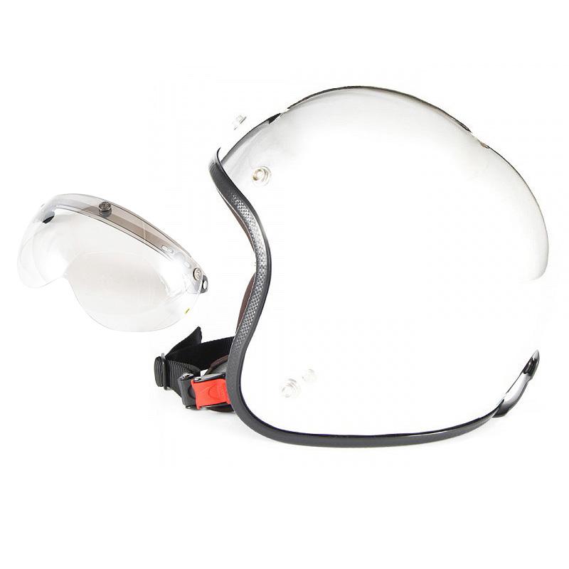 【JPM-3+APS-02】ジャムテックジャパン 72JAM JPM-3JP MONO ジェットヘルメット [メッキプレーン]3サイズ メンズ レディース 兼用品 SG規格 全排気量対応