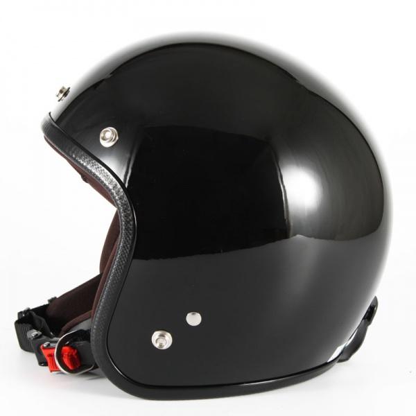 ジャムテックジャパン 72JAM JPW-2LJP MONO ジェットヘルメット [グロスブラック]Lサイズ(60-62cm未満) メンズ SG規格 全排気量対応