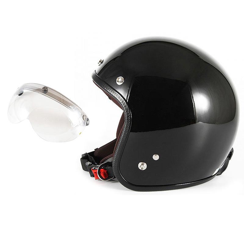 【JPW-2L+APS-02】ジャムテックジャパン 72JAM JPW-2LJP MONO ジェットヘルメット [グロスブラック]Lサイズ(60-62cm未満) メンズ SG規格 全排気量対応