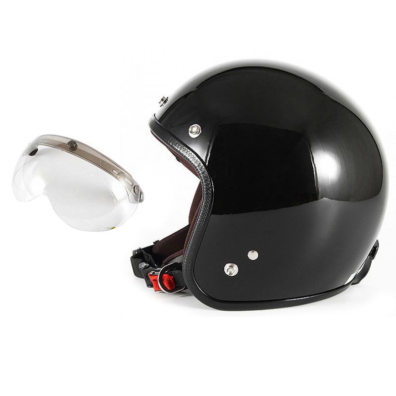 【JPW-2L+APS-03】ジャムテックジャパン 72JAM JPW-2LJP MONO ジェットヘルメット [グロスブラック]Lサイズ(60-62cm未満) メンズ SG規格 全排気量対応