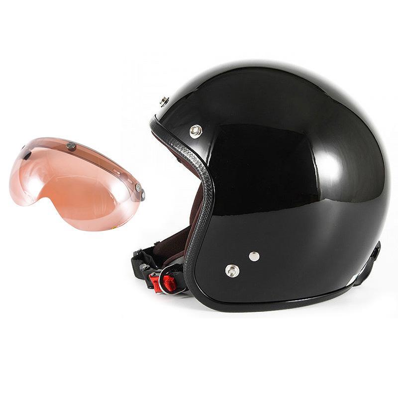 【JPW-2L+APS-05】ジャムテックジャパン 72JAM JPW-2LJP MONO ジェットヘルメット [グロスブラック]Lサイズ(60-62cm未満) メンズ SG規格 全排気量対応