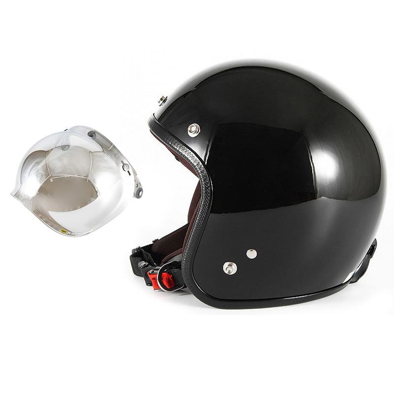 【JPW-2L+JCBN-02】ジャムテックジャパン 72JAM JPW-2LJP MONO ジェットヘルメット [グロスブラック]Lサイズ(60-62cm未満) メンズ SG規格 全排気量対応