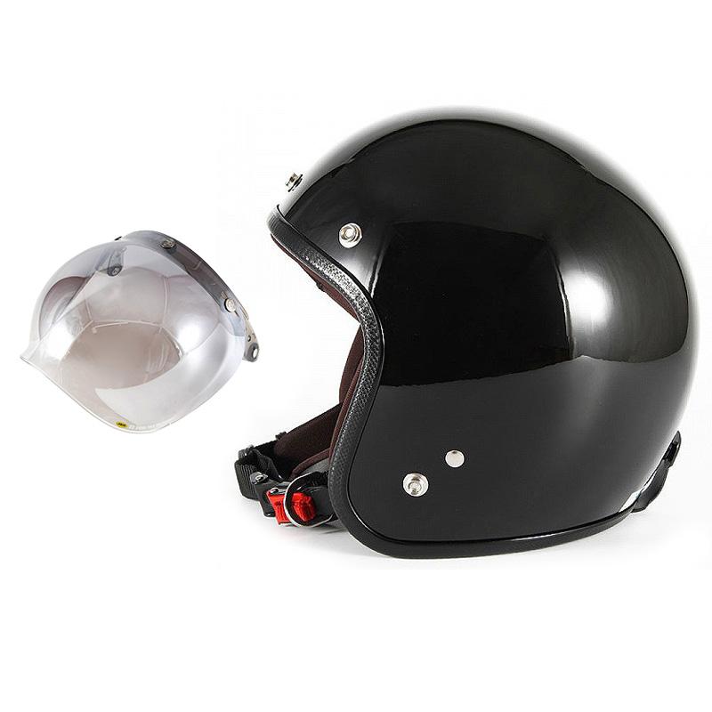 【JPW-2L+JCBN-03】ジャムテックジャパン 72JAM JPW-2LJP MONO ジェットヘルメット [グロスブラック]Lサイズ(60-62cm未満) メンズ SG規格 全排気量対応