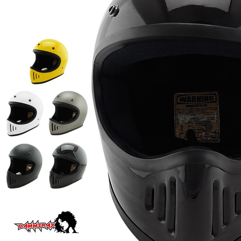 ドラッグスタイル フルフェイス ヘルメット BLASTER 改 ブラスター 改 [5カラー/2サイズ]DAMMTRAX ダムトラックス メンズ SG規格 全排気量対応 バイク用