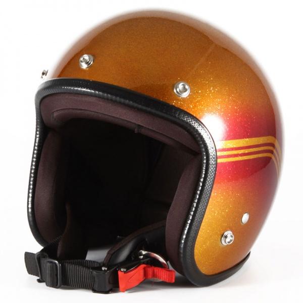 ジャムテックジャパン 72JAM VNT-09 ジェットヘルメット [CARROT MANDA/FREEサイズ(57-60cm未満)]