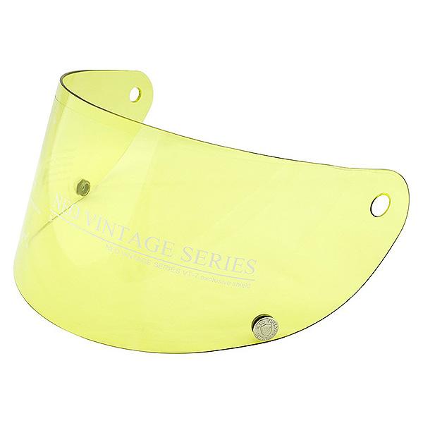 フルフェイスヘルメット ネオビンテージ VT-7 VT-9 カラーシールド シールド イエロー 黄色 NEO VINTAGE SERIES VT-7/VT-9 レトロフルフェイスヘルメット 専用オプションシールド [イエロー]