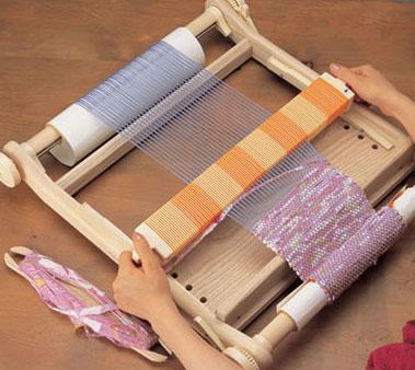 【送料無料】クロバー 咲きおり 手織り機 40cm「30羽セット