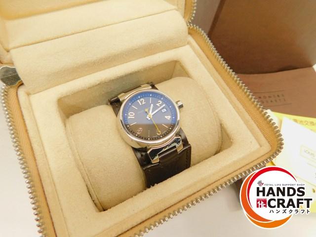 【中古美品】LOUIS VUITTON(ルイヴィトン) タンブール Q12111 腕時計 モノグラム ブラウン クォーツ【中古】【新古品】