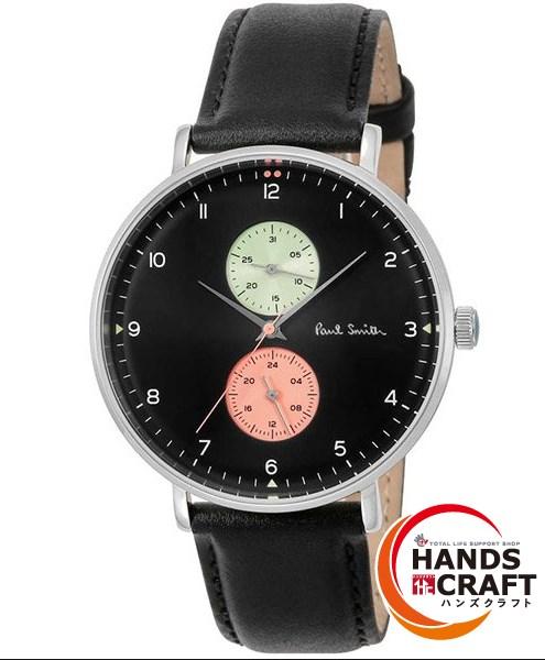 【未使用】Paul Smith TRACK DESIGN 腕時計 PS0070004 メンズ ブラック ポールスミス【中古】【新古品】MD790