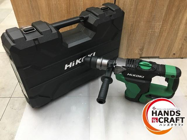 40mmクラス AC100V並みの穿孔速度 ハツリ性能を実現管理番号IDR660 中古品 HiKOKI 開催中 DH36DMA ハイコーキ 絶品 コードレスハンマードリル 本体+ケース付 新古品 中古