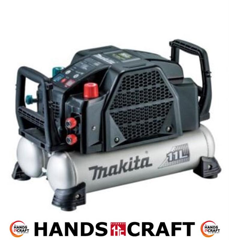 【未使用】makita マキタ エアコンプレッサ 一般圧・高圧 AC462XLB 黒 タンク容量11L 【中古】【店頭展示品】