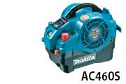 マキタ電動工具 内装エアコンプレッサ(50/60Hz共用)AC460S 青【新古品】【中古】