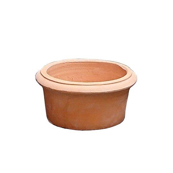 ガーデニングに最適なテラコッタ植木鉢 植木鉢 テラコッタ鉢 素焼き鉢 ハーフカメリアポット VT162-20 通常配送 7094485 送料別 20×H10 1.6kg 送料無料新品 超人気