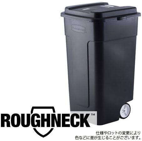 ラバーメイド ダストボックス (耐候) キャスター付き 190L ペール 樹脂製 大型ごみ箱 Rubbermaid 50 Gal Roughneck Wheeled Trash Can #2851 (6803938)送料別見積 大型・割れ物