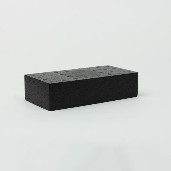 DIY 棚 テレビ台 収納 靴箱 靴置き シューズラック ハンズマン スチロールブロック 発泡スチロール ついに入荷 ブロック レンガ 送料別 通常配送 サイズ:200×100×50mm 売り出し K-レンガ ブラック レンガブロック 85k15 6147380 mono