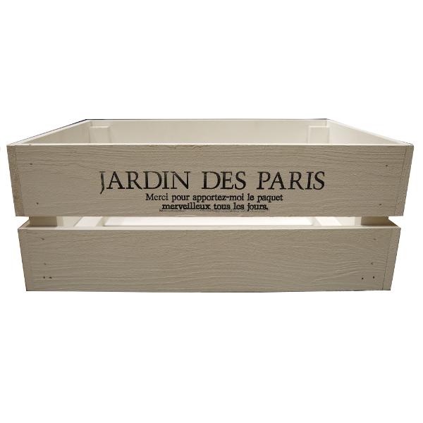 アンティーク おしゃれ 収納 収納ケース DIY ハンズマン 箱 買取 収納ボックス アンティークボックス 小 ホワイト 木箱 木製 送料別 105k お得クーポン発行中 ボックス 450×300×180mm 収納箱 9210369 ウッドボックス 通常配送