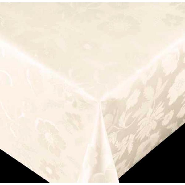 テーブルを傷付けずお手入れ簡単 おしゃれ 撥水 ハンズマン テーブル クロス 白系 テーブルクロス ダイヤモンドシリーズ 特価品コーナー☆ フラワー 同梱不可 6900330送料別 商品番号: 通常配送 国内在庫 10cm単位切売 オフホワイト 幅:140cm 67050 切り売り