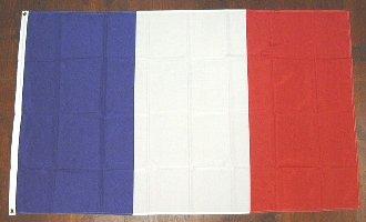 各国の国旗がリーズナブルに お得 国旗 フランス 中サイズ 6662323 通常配送 送料別 60cm×90cm お得