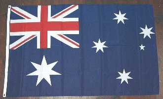 各国の国旗がリーズナブルに 国旗 オーストラリア 中サイズ 送料別 OUTLET SALE 入手困難 通常配送 60cm×90cm 6662617