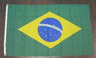 各国の国旗がリーズナブルに 国旗 ブラジル 中サイズ 送料別 通常配送 60cm×90cm 日本最大級の品揃え 6662528 新作続